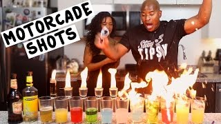 The Motorcade Shots - Tipsy Bartender