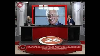 26.Gün | Vatan Partisi Genel Başkanı Doğu Perinçek
