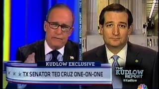 Senator Ted Cruz on The Kudlow Report - 01/03/2013