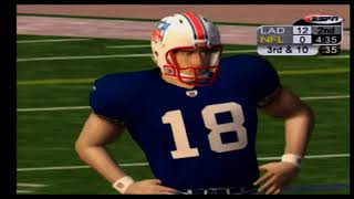 ESPN NFL 2K5 Gameplay and Commentary Part 3