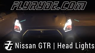 2015 Nissan GTR Switchback Sequential LED Headlights