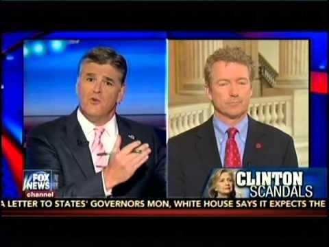 Sen. Rand Paul Appears on Fox's Hannity - June 15, 2015