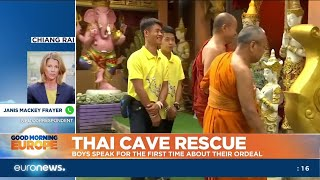 Thai Cave Rescue: boys speak for the first time about their ordeal
