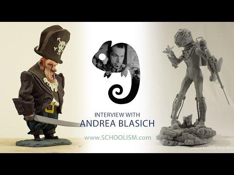 Artist Interview with Andrea Blasich