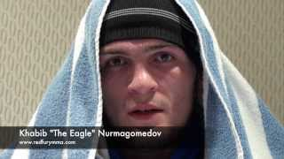 "Khabib ""The Eagle"" Nurmagomedov addresses his fans at Че борец, да? Красавчик (ЧБК)"