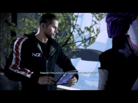 Mass Effect 3 - Meeting with the Asari Councilor