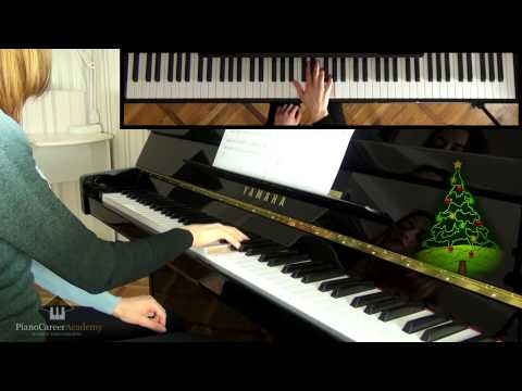 Christmas Piano Lesson for Beginners. O Christmas Tree. Boogie On Down to That Manger.