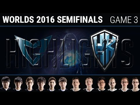 SSG vs H2K Game 3 Highlights, S6 Worlds 2016 Semifinals, Samsung Galaxy vs H2K G3 Highlights