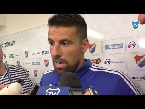HET liga: Milan Baroš hodnotí utkání s Brnem (2:0)