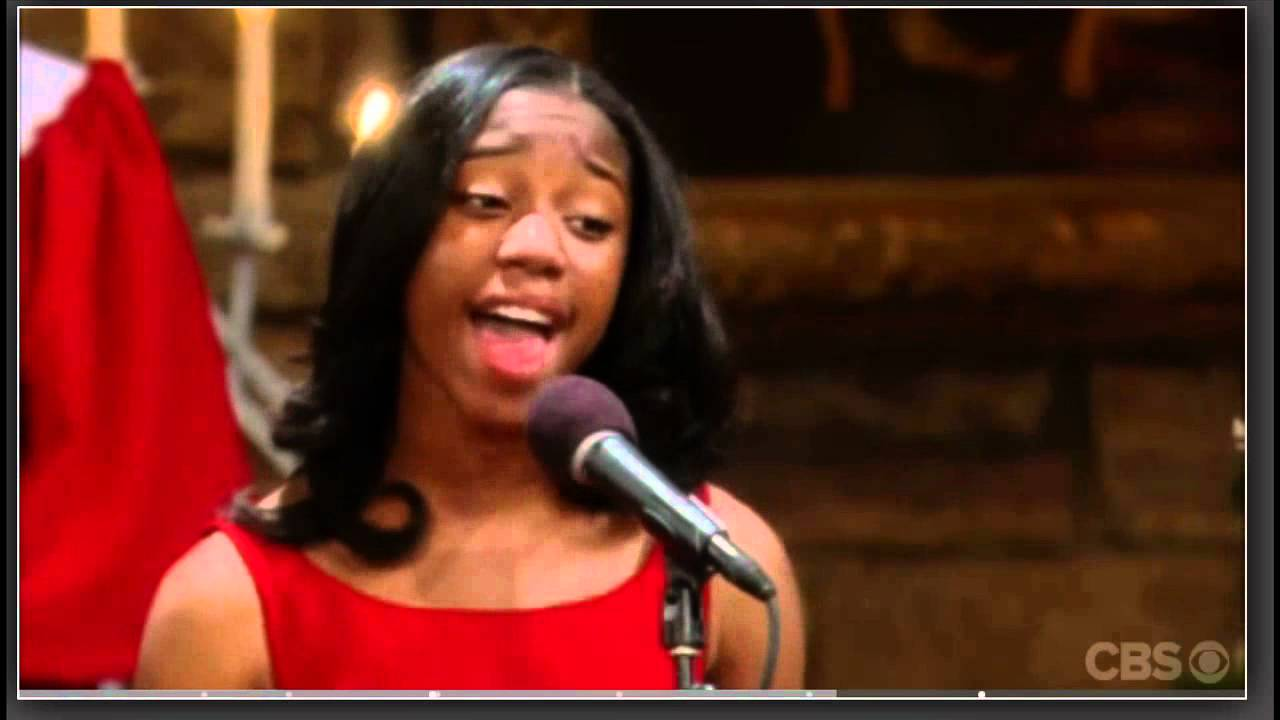 Jamia simone nash sings quot oh holy night quot young and the restless