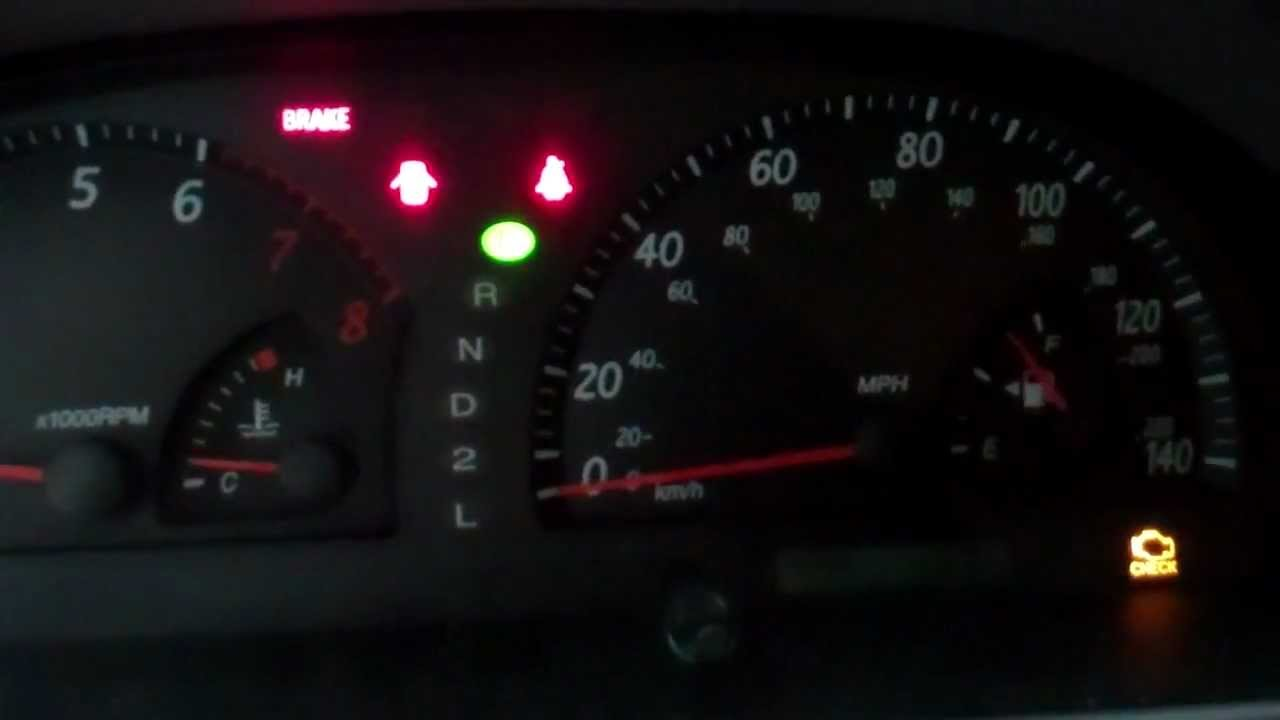 2002 Camry Check Engine Light Fix Quot Gas Cap Quot Youtube