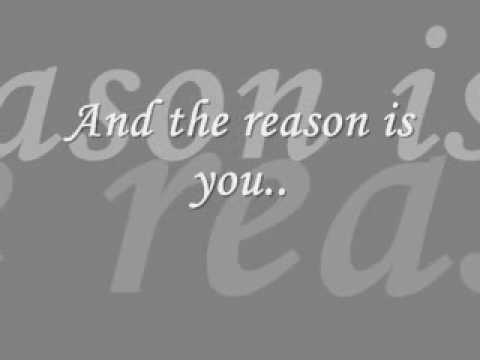 The Reason - HoobaStank (With Lyrics)