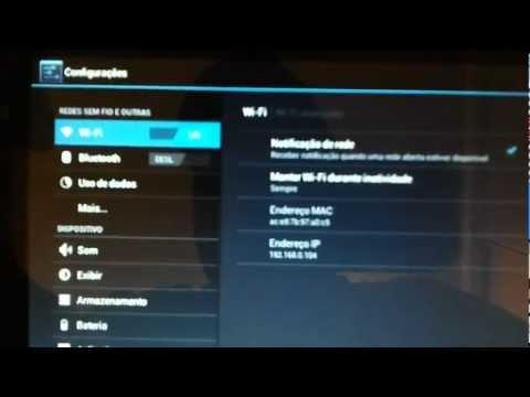 Tablet Genesis 8230 configurando wi-fi parte 5