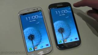 Samsung Galaxy S III hands-on and initial walkthrough
