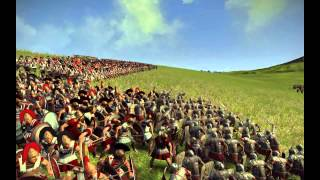 roman legion vs spartan phalanx: who wins? cinematic battle + analysis (rome 2 wrath of Sparta)