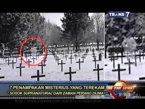 On The Spot - 7 Penampakan Misterius yang Terekam