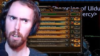 Asmongold Exposes Viewer In Transmog Competition!