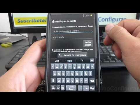 como Desactivar el patrón de desbloqueo samsung galaxy s3 i9300 español Full HD