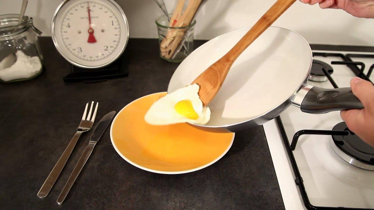 La po le rev tement c ramique qui change de couleur youtube - Lagostina poele ceramique ...