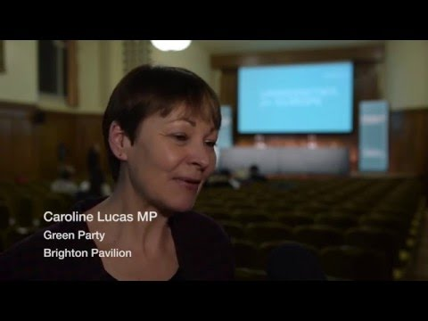 Caroline Lucas My Message To Young People Is Register To Vote