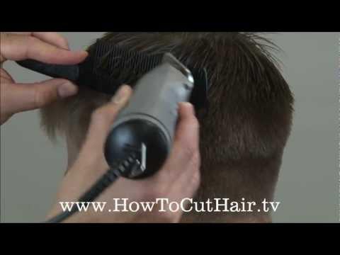 how to cut a comb ober top