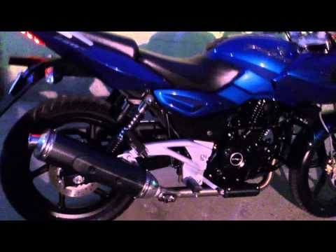 Bajaj Pulsar 220f Rgua,chile video