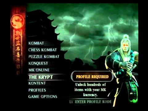 Mortal Kombat Deception - How To Unlock Noob-Smoke