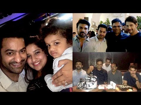 Jr NTR, Mahesh Babu and Ram Charan at Vamsi Paidipally Birthday Celebrations | Telugu Tonic