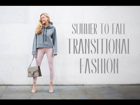 SUMMER TO FALL TRANSITIONAL FASHION OUTFITS 2016   Hollie Hobin