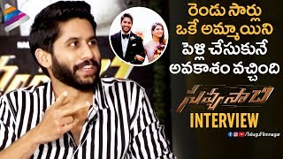 Naga Chaitanya Reveals His Marriage Experience | Savyasachi Team Interview | Samantha | MM Keeravani