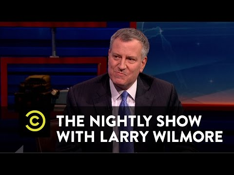 The Nightly Show - Goodnightly - #KEEPIT100 - Bill de Blasio