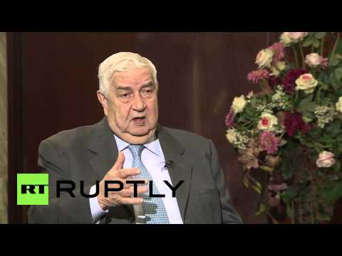 Russia: Syrian Foreign Minister blasts Turkey and Saudi Arabia for waging proxy war on country