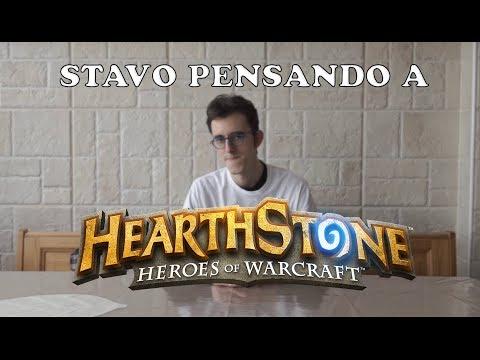 STAVO PENSANDO A HEARTHSTONE - Parodia Stavo Pensando a Te Fabri Fibra