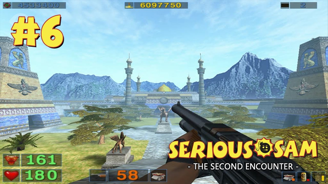 Serious Sam: The Second Encounter прохождение игры - Уровень 6: Зиккурат (All Secrets Found)