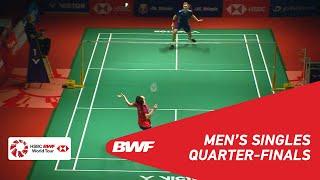 QF   MS   LEE Zii Jia (MAS) vs Viktor AXELSEN (DEN) [5]   BWF 2019