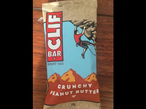 Clif bar crunchy peanut butter review