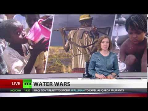Russia Today report on water as a source of conflict