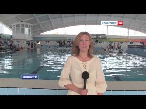 В Евпатории проходят соревнования по акватлону