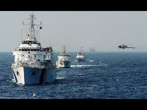 Indian navy Ships joins with Malaysian Navy to search Missing plane