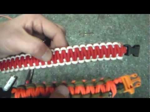 Paracord Double Cobra Weave Variation