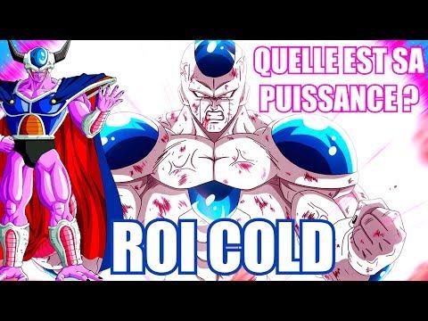 LA PUISSANCE DU ROI COLD - DRAGON BALL