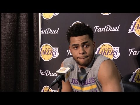 Lakers Nick Young and D'Angelo Russell talk about secretly recorded video