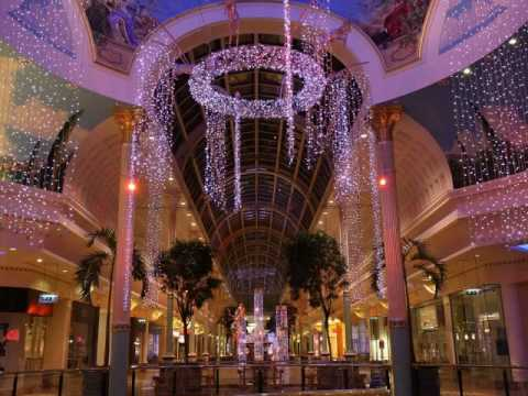 Christmas Decorations Trafford Centre Manchester 2008 ...