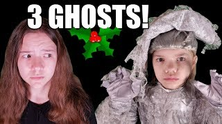 The Teen Scrooge! Three Christmas Ghosts! A New Christmas Carol