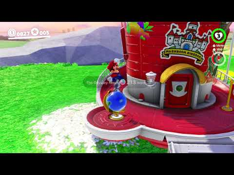 Super Mario Odyssey - Music Box Easter Egg