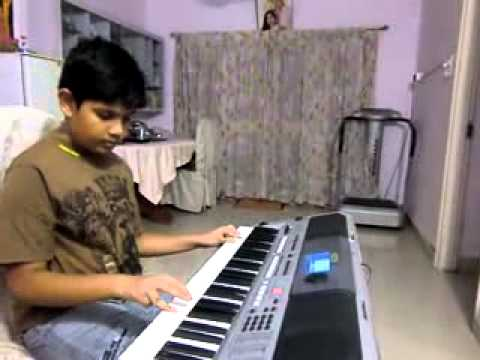 maa tujhe salam a r rehman vandemataram on keyboard by n.likhit...