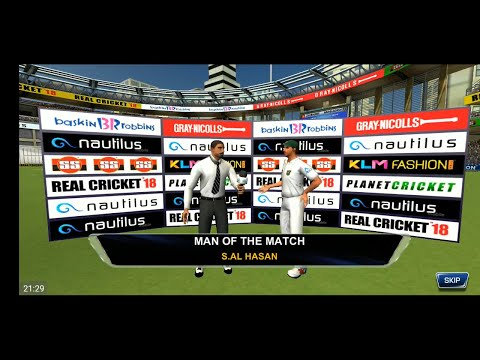 Day 5 - 1st Bangladesh Vs Zimbabwe Full Test Match Highlights Real Cricket 18 Gameplay