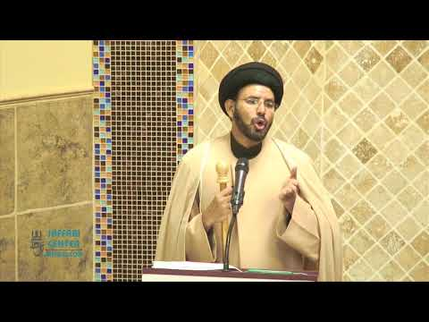"Jumah Khutbah ""Benefits of Thinking in Islam"" -  06/01/2018 Maulana Syed Hussain Ali Nawab"