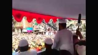 লংমার্চ কর্মসূচী শেষে মুফতি ফয়জুল করিম সাহেবে জ্বালাময়ী বক্তব্য। Mufti Fayjul Karim.