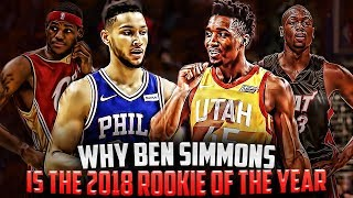 Why Ben Simmons Will WIN The 2018 Rookie Of The Year